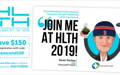 The Digital Health Guy is delighted to join HLTH 2019 and if you act now – you can save $150 on your ticket!